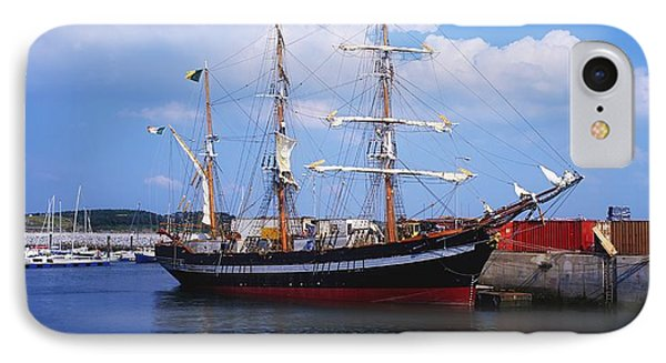 Fenit, Co Kerry, Ireland Famine Ship Phone Case by The Irish Image Collection