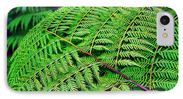 Fern Frond Phone Case by Kaye Menner