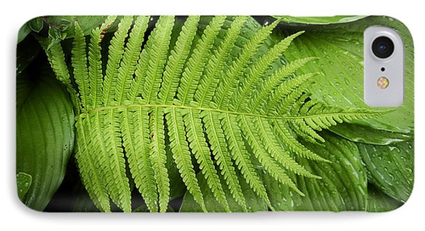 Fern On Top Phone Case by Nafets Nuarb