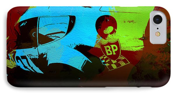 Ferrari  Watercolors IPhone Case by Naxart Studio