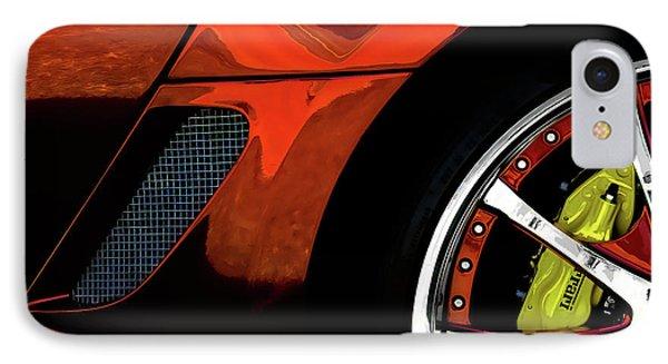 Ferrari Wheel Detail IPhone Case by Douglas Pittman