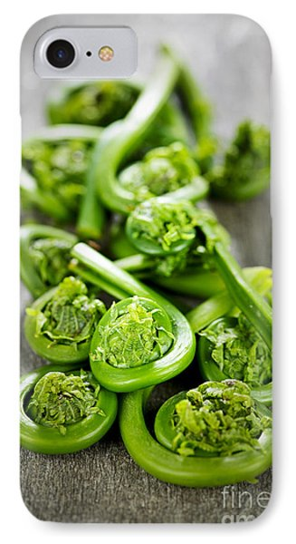 Fiddleheads IPhone Case by Elena Elisseeva