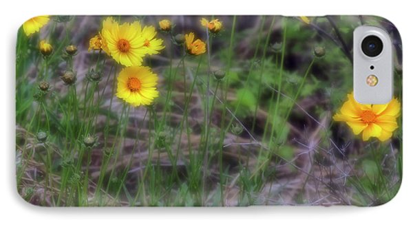 IPhone Case featuring the photograph Field Flowers by Joan Bertucci