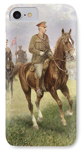 Field Marshal Haig Phone Case by Jan van Chelminski