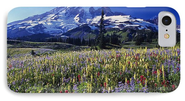 Field Of Blooming Wildflowers In Phone Case by Natural Selection Craig Tuttle
