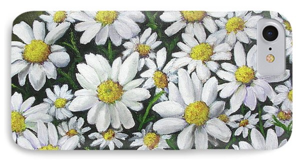 Field Of Daisies IPhone Case by Mary Kay Holladay
