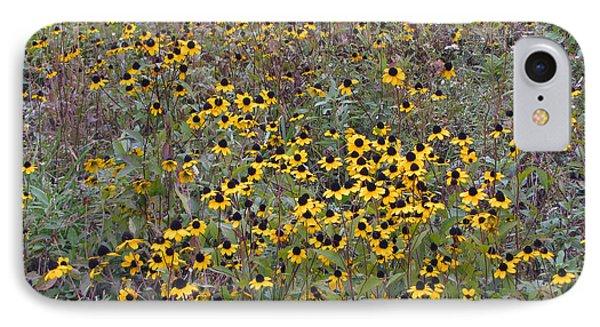 Field Of Suzies IPhone Case by Cedric Hampton