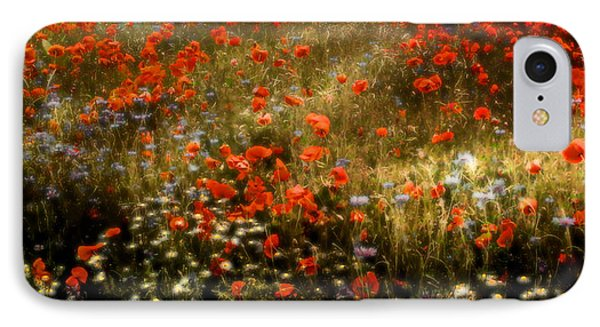 Field Of Wildflowers IPhone Case by Ellen Heaverlo