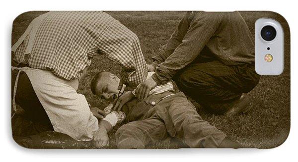 Field Repair IPhone Case by David Dunham