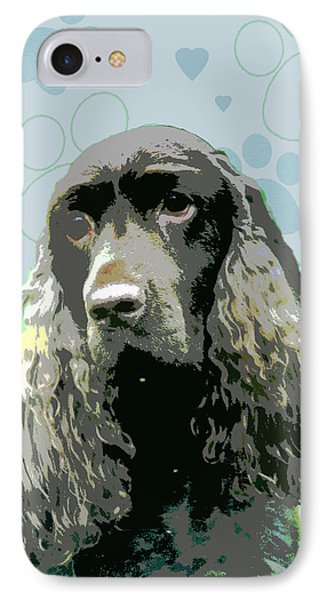 Field Spaniel Phone Case by One Rude Dawg Orcutt