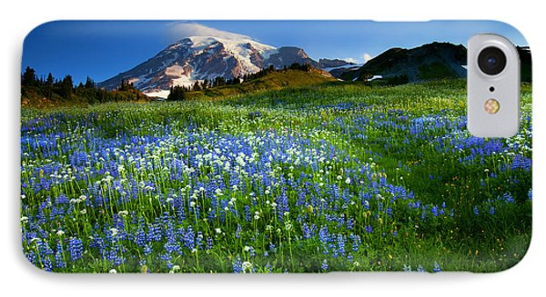 Fields Of Paradise Phone Case by Mike  Dawson