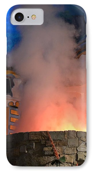 Fiery Entrance IPhone Case by Bonnie Myszka