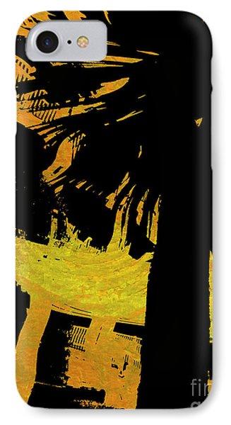Fiery Night IPhone Case