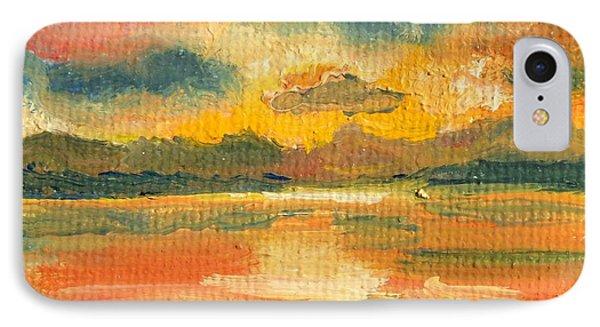 Fiery Sunset IPhone Case by Julie Brugh Riffey