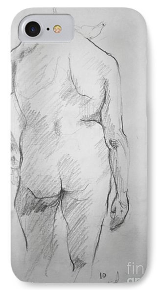 Figure Study IPhone Case by Rory Sagner