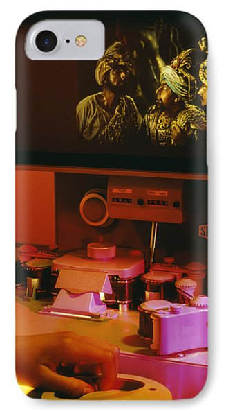 Film Editing IPhone Case by Carlos Dominguez