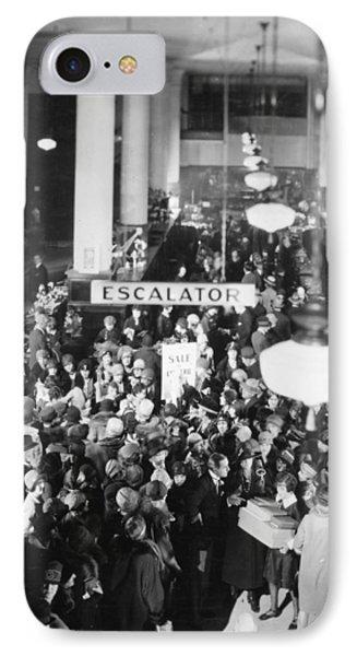 Film Still: Becky, 1927 Phone Case by Granger