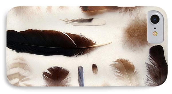 Finding Feathers IPhone Case by Angie Rea