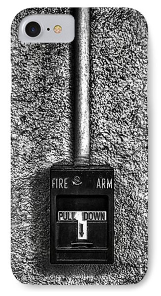 Fire Arm Pull Down Phone Case by Bob Orsillo