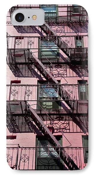 Fire Escape Phone Case by Axiom Photographic