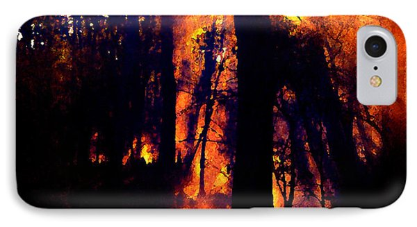 Fire In The Morning IPhone Case