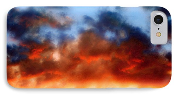Fire In The Sky Phone Case by Andee Design