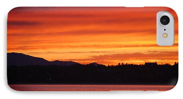 Fire Sky IPhone Case