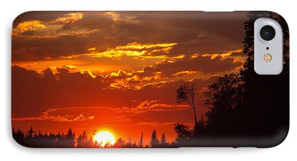 Fire Sun IPhone Case