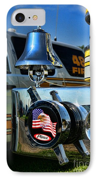 Fire Truck Bell Phone Case by Paul Ward