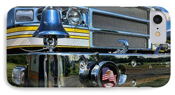 Fireman - Pierce Fire Truck Phone Case by Paul Ward