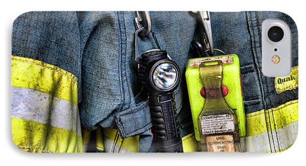 Fireman - The Fireman's Coat Phone Case by Paul Ward