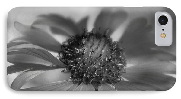 IPhone Case featuring the photograph Firewheel In Mono by Vicki Pelham