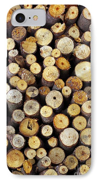 Firewood IPhone Case by Carlos Caetano