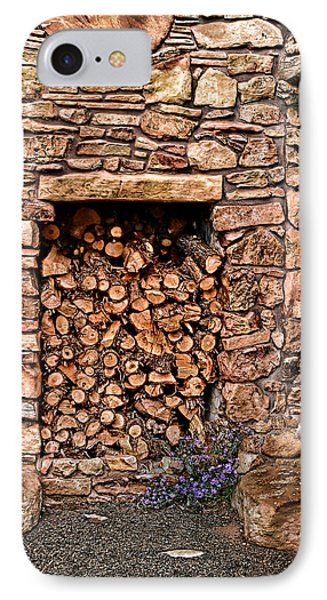 Firewood Phone Case by Tom Prendergast