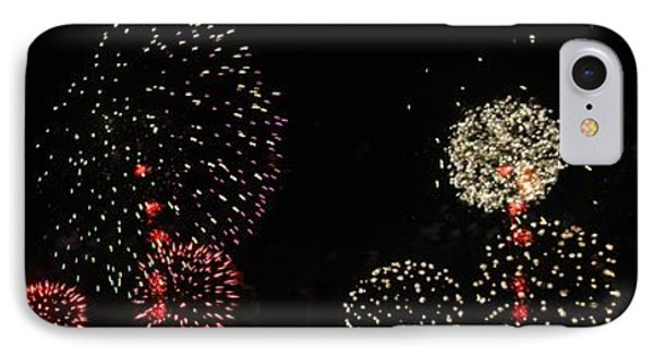 Firework Lifecycle 3 Phone Case by Meandering Photography
