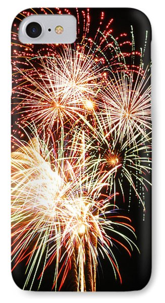 Fireworks 1569 Phone Case by Michael Peychich