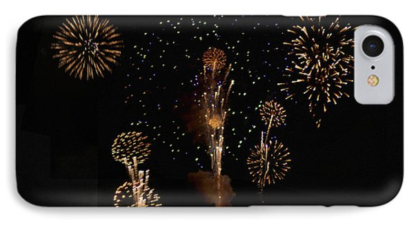 Fireworks Phone Case by Bill Cannon