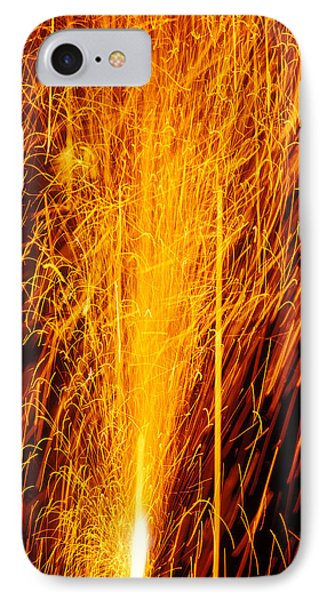 Fireworks Fountain IPhone Case