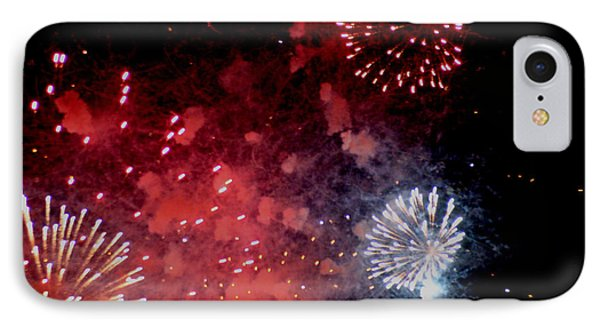 IPhone Case featuring the photograph Fireworks II by Kelly Hazel