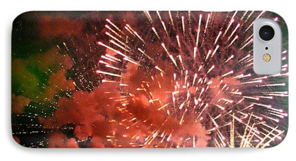 IPhone Case featuring the photograph Fireworks by Kelly Hazel