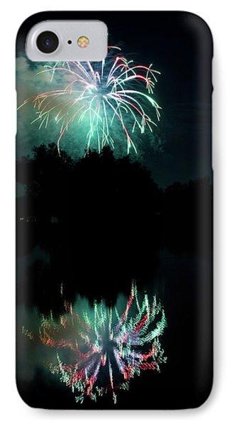 Fireworks On Golden Ponds. Phone Case by James BO  Insogna