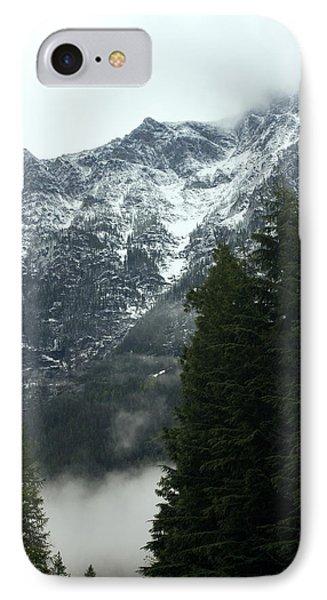 First Day In Glacier Phone Case by Amanda Kiplinger