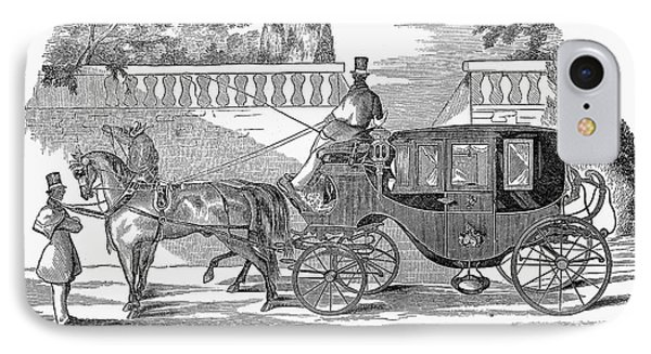 First Lady Carriage, 1851 Phone Case by Granger