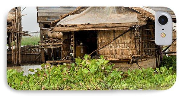 Fisherman Boat House IPhone Case by Artur Bogacki