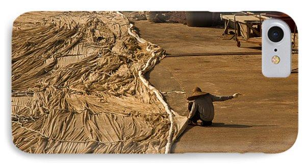 Fisherman Sewing Net IPhone Case