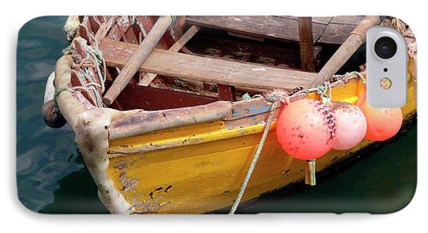 Fishing Boat Phone Case by Carlos Caetano