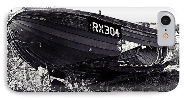Fishing Boat Wreck Phone Case by Sharon Lisa Clarke