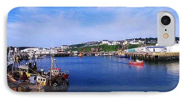 Fishing Harbour, Dunmore East, Ireland Phone Case by The Irish Image Collection