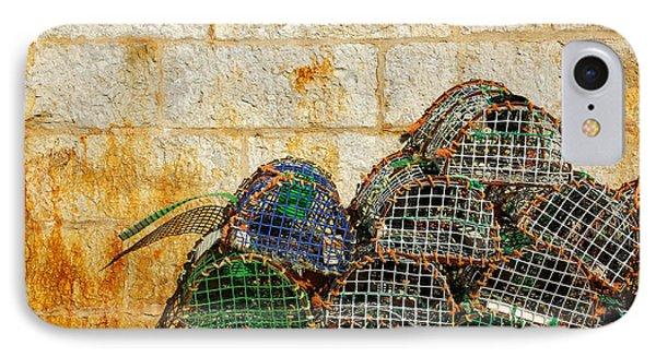 Fishing Traps Phone Case by Carlos Caetano