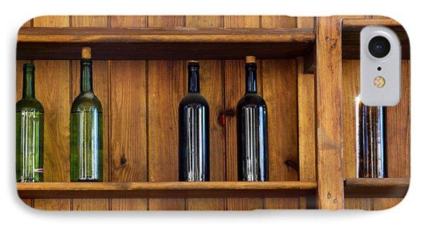 Five Bottles Phone Case by Carlos Caetano